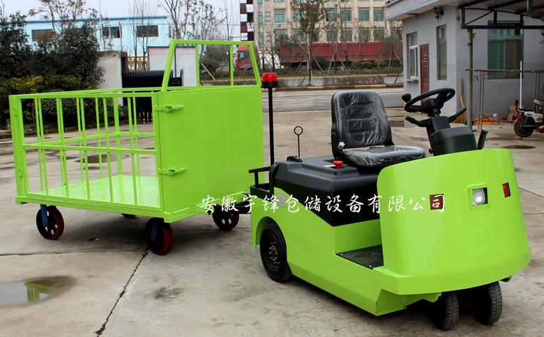 电动牵引车常用控制装置的使用