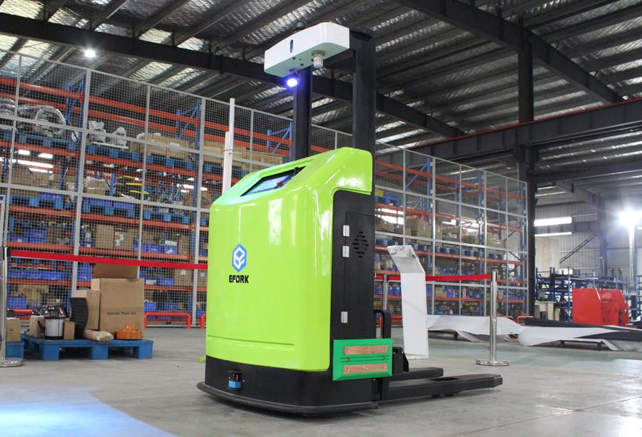 AGV机器人不同路径的适用性