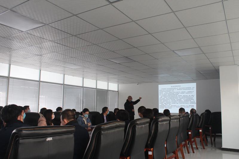 安徽宇锋公司开展营销礼仪培训
