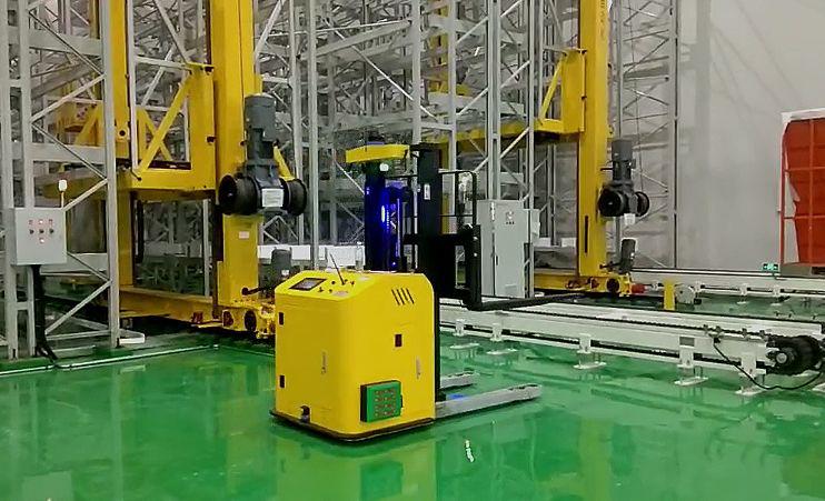 安徽宇锋AGV为企业智能化转型赋能